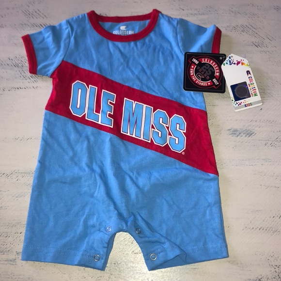 innovative design 1cd09 d4be2 Ole Miss Baby onesie NWT